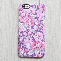 Classy Violet Pink Floral iPhone 6s case iPhone 6 plus Ethnic iPhone 5S iPhone 5C iPhone 4S/4 Case Samsung Galaxy S6 edge S6 S5 S4 Case 080 - Edit Listing - Etsy