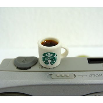 Starbucks Cup of Coffee Phone Plug - Smartphone iPhone Tablet-
