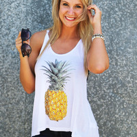Pineapple Sweet Tank