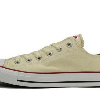 IKCKL9 Converse Unisex: All Star Ox Natural White Sneaker