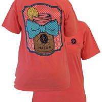 Southern Couture Sweet Tea Tee- On Comfort Color