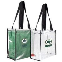 Green Bay Packers NFL Convertible Clear Tote