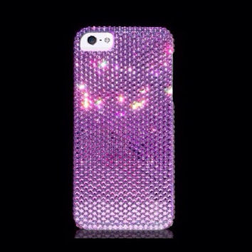 Swarovski Crystal iPhone 5s/iPhone 5 Case - Violet Purple Bling iPhone 5s case