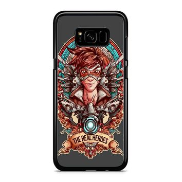Overwatch Agent Tracer The Real Heroes Samsung Galaxy S8 Case