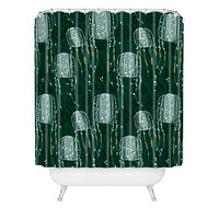 Raven Jumpo Sea Wasp Shower Curtain