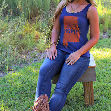 Judith March: Sweet Home Alabama Tank, Navy