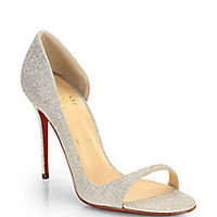 Christian Louboutin - Glitter 100 d'Orsay Pumps - Saks Fifth Avenue Mobile