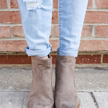 Best Case Booties - Taupe