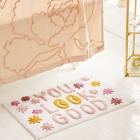 You Look Good Bath Mat | Urban Outfitters