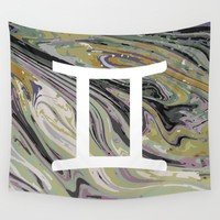 Gemini Wall Tapestry by KJ Designs
