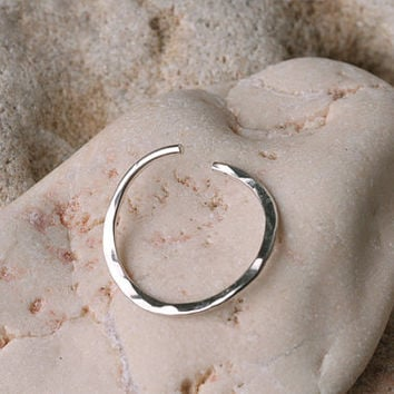 SEPTUM RING / EAR /Cartilage Sterling by BensJewelryCreations