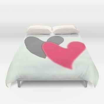 Lovers Duvet Cover by EvidaSerrano