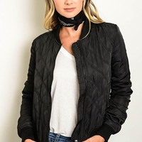 Blaire Bomber Jacket - Black FINAL SALE!