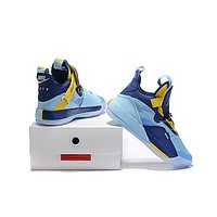Air Jordan 33 XXXIII - North Carolina Blue