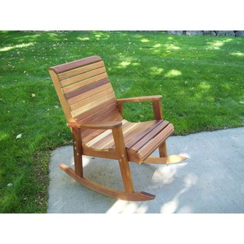 Wood Country T&L Red Cedar Rocking Chair
