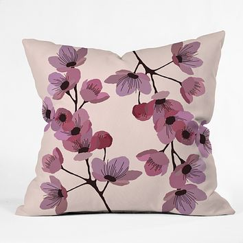 Gabi Linternas Throw Pillow