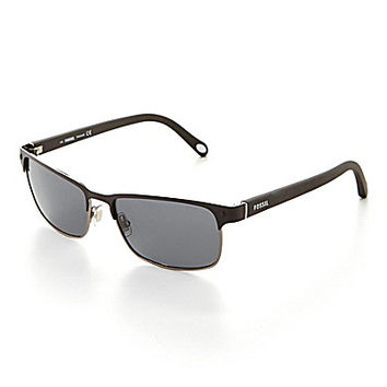 Fossil Rectangle Polarized Sunglasses