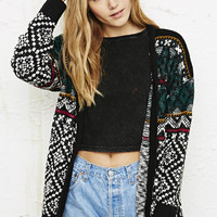 BDG Fair Isle Boyfriend Cardigan at Urban Outfitters