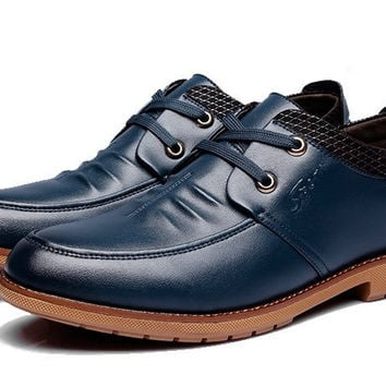 Mens Popular Casual Low Boots