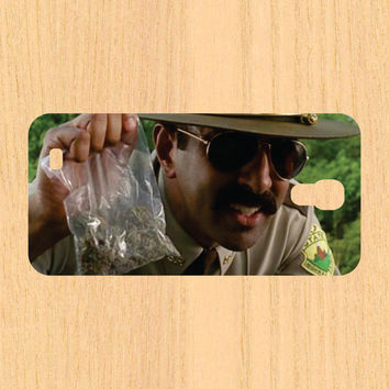 Cop Holding Marijuana  iPhone 4 and 5 Case and Samsung Galaxy S3/S4