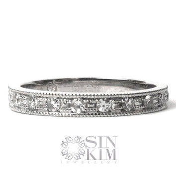 Diamond Eternity Band | Made You Look