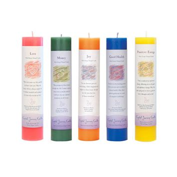 Herbal Magic Reiki Charged Candles