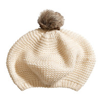 Knitted Beret - from H&M