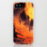 Golden Sky iPhone & iPod Case by Amy Sia