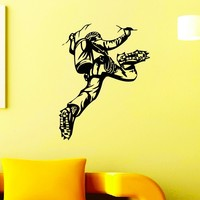 Wall Decal Vinyl Sticker Rock Climber Climbing Extreme Sport Wall Decor Home Interior Design Art Mural Boy Bedroom Dorm Z743