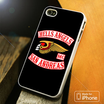 Hells Angels San Andreas iPhone 4 5 5C SE 6 Plus Case