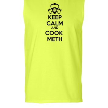 keep calm and cook meth - Sleeveless T-shirt