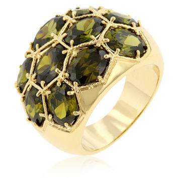 Spring Dome Ring