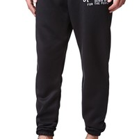 Kennedy Jetsetter Jogger Sweatpants - Mens Pants - Black