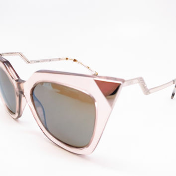 Fendi FF 0060/S MSQ/3U Turtledove Silver Palladium Sunglasses
