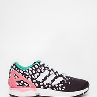 adidas Originals ZX Flux Multi Coloured Dot Trainers