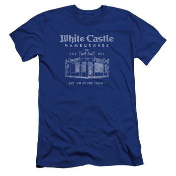 White Castle - By The Sack Premuim Canvas Adult Slim Fit 30/1