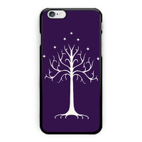 Lotr Inspired White Tree Of Gondor iPhone 6 Plus Case