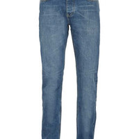 Mid Blue Vintage Slim Jeans - Men's Jeans  - Clothing