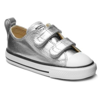 CREY7GX Toddler Converse Chuck Taylor All Star Metallic Sneakers 895ad6fc8