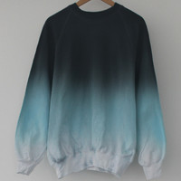 ANDCLOTHING — Ice Dip Dye Sweater <em>SOLD OUT</em>