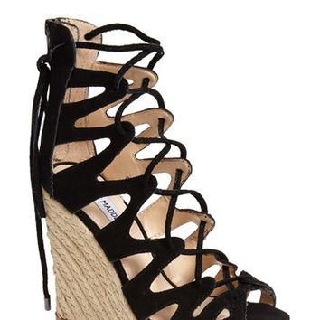 Women's Steve Madden 'Theea' Caged Wedge Sandal,