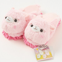 Alpacasso Plushie Cleaning Slippers