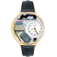 Accountant Watch in Gold (Large)