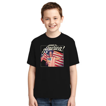 Made In America - Arnold Schwarzenegger Youth T-shirt
