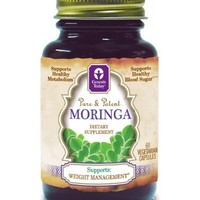 Moringa-800mg, 60 Vegetarian Capsules, Genesis Today 100% Pure Moringa Oleifera , As Seen On The View and Recommended Dr. Lindsey Duncan   deviazon.com