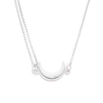 Moon Pull Chain Necklace