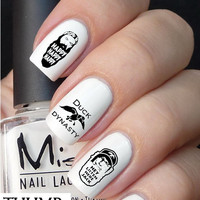 Duck Dynasty nail decal set 50pc