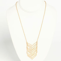 Chevron Necklace - LoveCulture