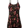 LE3NO Womens Flowy Spaghetti Strap Floral Tank Top