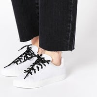 adidas Originals Stan Smith Vulcan White Trainers at asos.com